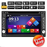 2 din in dash Multimedia Stereo Deck Win8 Video auto Autoradio GPS Navi Auto autoradio Ricevitore...