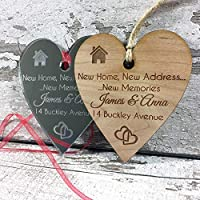New Home Owners Personalised Plaque Housewarming Gift Idea For Friends Couple Men Women Her Him Family Boyfriend Gift - L1110