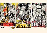 Poster TARANTINO Pulp Fiction Reservoir Kill Bill