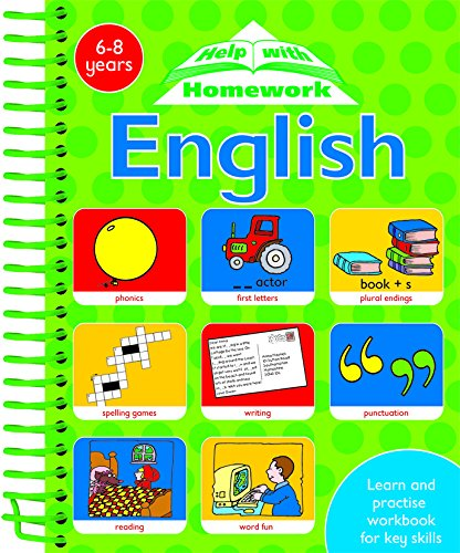 4 IN 1 SPIRALS:ENGLISH (Help with Homework)