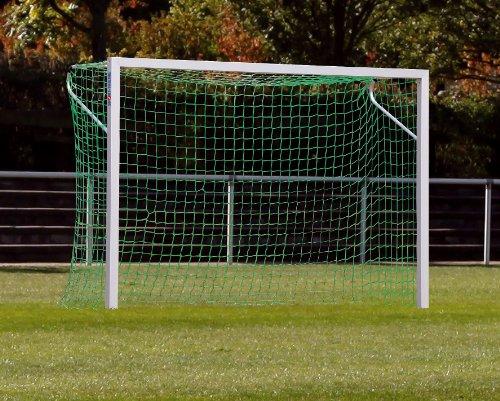 Sport-Thieme® Alu-Kleinfeldtore 3×2 m, Quadratprofil, frei stehend oder in Bodenhülsen Frei stehend - 3