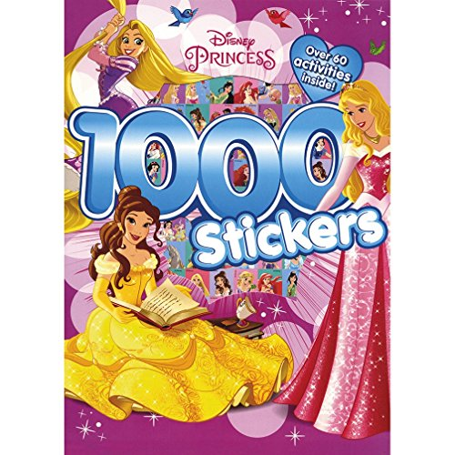 Disney Princess 1000 Stickers por Parragon Books Ltd
