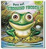 Pass auf, Ferdinand Frosch: Wackelaugenbuch