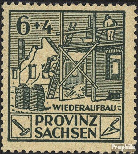 Prophila Collection Sowjetische Zone (All.Bes.) 87V, gebrochener Hammer 1945 Wiederaufbau (Briefmarken für Sammler)
