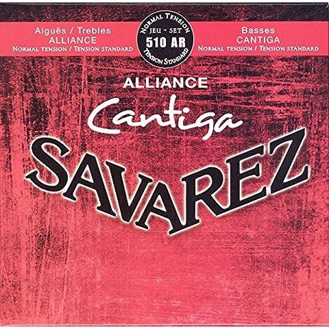 Guitares Classiques - Savarez Alliance Cantiga 510AR Jeu de Cordes