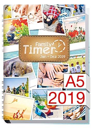 Der Familien-Planer! 12 Monate Jan-Dez 2019, Familienkalender (Kleine übersichtliche Kühlschrank)
