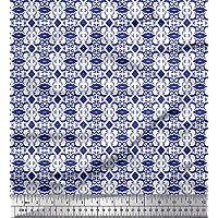 5 //20 BLUMEN Applikation 3cm deko Royal Blau flowers 3D kunstoff Borte Nähen 203