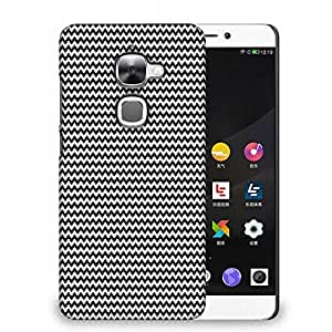 Snoogg Black And White Strips Designer Protective Phone Back Case Cover For Samsung Galaxy J1