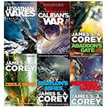 Expanse series vol (1 to 6 ) books collection set by james s. a. corey
