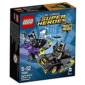 LEGO Super Heroes Figurine Mighty Micros Batman Vs Catwoman, Colore vari, 76061 LEGO DC Super Heroes LEGO