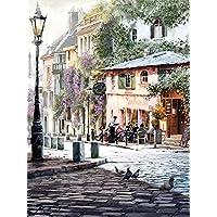 Art Group The Richard Macneil (Sunshine Cafe) Canvas Print, Wood, Multicolour, 30 x 40 x 1.3 cm