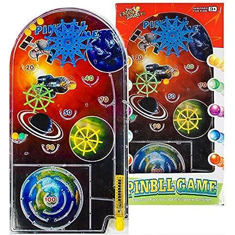 12 Giochi di Flipper e Puzzle Labirinto - Robot Spazio