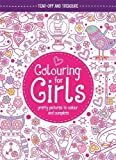 Enlarge toy image: Colouring For Girls: Pretty Pictures To Colour And Complete (Buster Activity) - infant and baby development