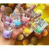 Tera13 Unicorn Water Keyring / Unicorn Keyring for Kids / Unicorn Keychain (Pack of 1)