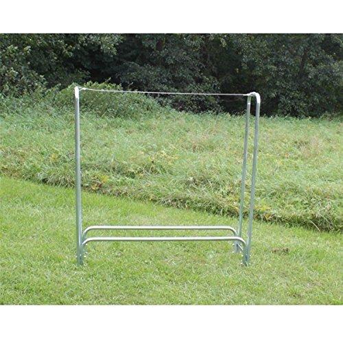 Estexo Home & Garden Design Brennholz-Regal Kaminholz-Regal Holz-Regal Holzkorb Holsständer Metall (LG-03/1)