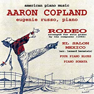 Aaron copland american piano music el salon mexico for Aaron copland el salon mexico