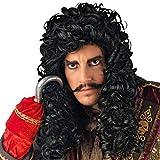 Elbenwald crochet-accessoire Pirat Captain Erwachsene Kostüm Perücke