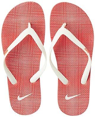 Nike Men's Aquaswift Thong Prt Challenge Red,White  Flip Flops Thong Sandals -10 UK/India (45 EU)(11 US)