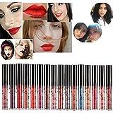 ROMANTIC BEAR 16 Colors Waterproof Long Lasting Matte Liquid Lipstick Beauty Lip Gloss Set