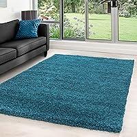 Hochflor Shaggy Teppiche Für Wohnzimmer, Esszimmer, Gästezimmer,  Jugendzimmer, Babyzimmer Mit 5 Cm