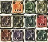 Prophila Collection Luxemburg (Dt.BES.2.WK.) 17-27,29 1940 Aufdruckausgabe (Briefmarken für Sammler)