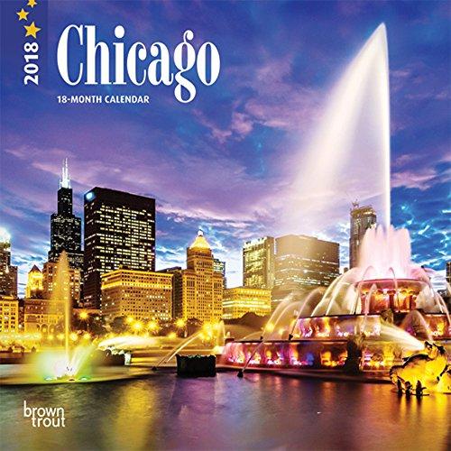 Chicago 2018 Calendar - Mini-kalender Chicago
