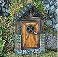 Fiddlehead - Hütte Märchen Tür von Fiddlehead bei Du und dein Garten