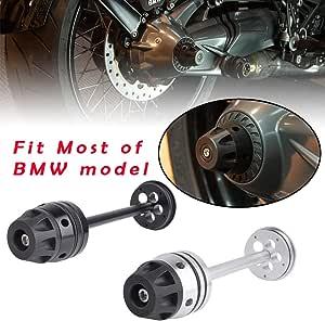 Xx Ecommerce Motorrad R1250gs Hinten Refit Rad Gabel Achse Sliders Cap Pad Crash Protector For B M W R1200gs 2007 2012 Rninet 2014 2018 Silber Auto