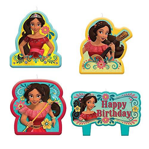 Elena d'Avalor Bougies d'anniversaire (4 chiffres) 0013051694319