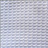 bng Stoff Wabengitter weiß 100% Baumwolle, Frottee,