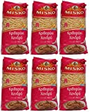 6x 500 g Set Reisnudeln dick aus Griechenland Hartweizennudeln Hartweizen griechische Reis Nudeln 3 kg + Probiersaachet Olivenöl aus Kreta a 10 ml