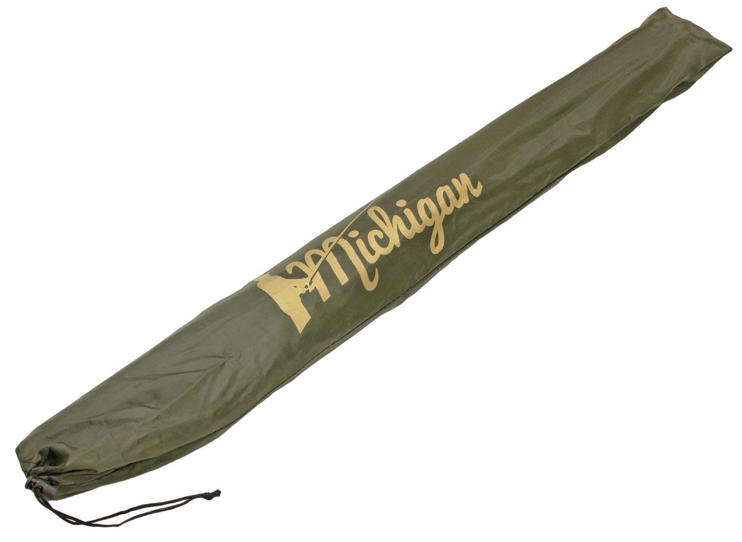 "Michigan Fishing Umbrella with Top Tilt and Sides Brolly Shelter with FREE Carry Bag, Olive Green, 50"", 60"", 75"" or 86"" 4"