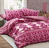 LnB Navajo Aztec Pflaume 50% Polyester 50% Baumwolle Bedrucktes Bettwäsche-Set/Bettbezug (Single)