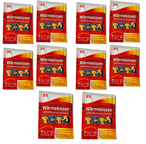 All-around24® - cuscini termici autoadesivi werunia gmbh, da 6 a 20 pezzi, 3452026, 10 pz