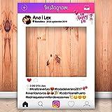 setecientosgramos Photocall Instagram | 80x110 | Ventana Instagram | Marco Instagram | PhotoBooth Instagram (Cartón 4mm)