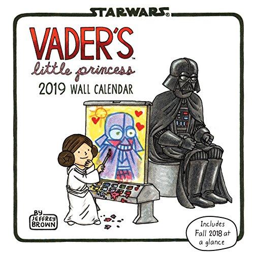 2019 Wall Calendar: Vader's Little Princess