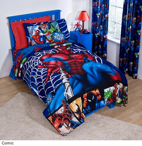 Marvel Spiderman Comic Twin de lit