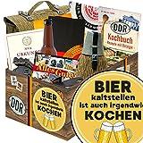 Bier kalt stellen ist auch irgendwie kochen | Ossi Paket | mit 7 verschiedenen NVA Produkten | GRATIS Aufkleber - Bier kalt stellen ist auch irgendwie kochen