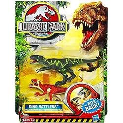Jurassic Park Dino Battlers - Velociraptor vs. Tyrannosaurus Rex