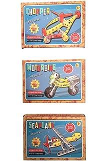 Retro Bazaar Traditional Construction Model Kits Family Fun Original Design New