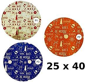 Florio 8001294846529 - Bolsa de Regalo de Polipropileno, 25 x 40 cm, Multicolor