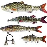 Croch Kit Leurres de pêche,Artificielle Appâts pêche Accessoires pour Les Poissons Prédateurs
