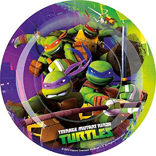 BIGIEMME S.R.L., 8 GERICHTE Ninja Turtles 18 CM