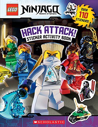 Hack Attack!: Sticker Activity Book (Lego Ninjago) (Lego Ninjago: Masters of Spinjitzu) por Ameet Studio