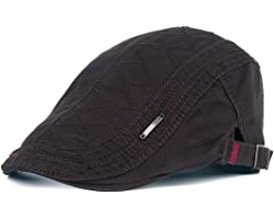 Thenice Mens Vintage Style Flat Cap Gatsby Ivy Caps Irish Hunting Hats