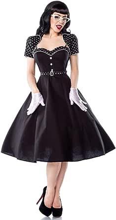 at 50er Jahre Pin Up Vintage Rockabilly Kleid Klara