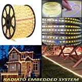Radiato ES Led Strip(Rope) SMD Roll Super Thin 3014 Waterproof. (Yellow, 5 Meter)