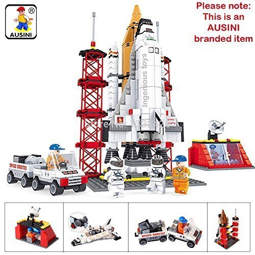 AUSINI-Branded-Spaceship-Launching-Base-Shuttle-Space-Station-Astronaut-560pcs-25806