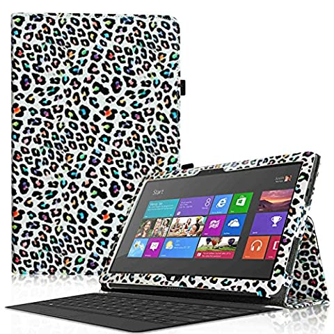 Fintie Schutzhülle Flip Case mit Stylus Halterung für Microsoft Surface