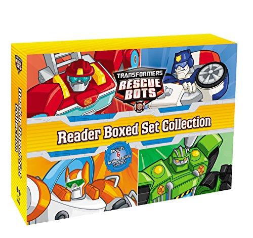 Transformers: Rescue Bots: Reader Boxed Set Collection por Hasbro